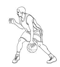 Dribling en básquet