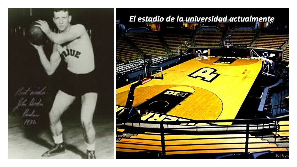 John Wooden como jugador universitario