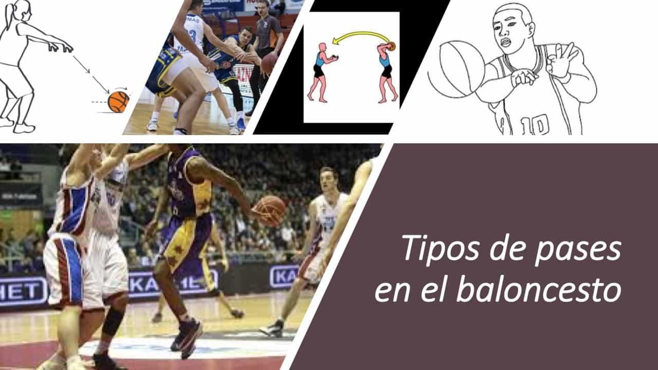 Tipos de pases en el baloncesto