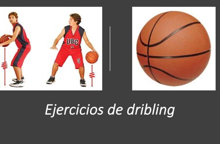 Ejercicios de dribling para baloncesto