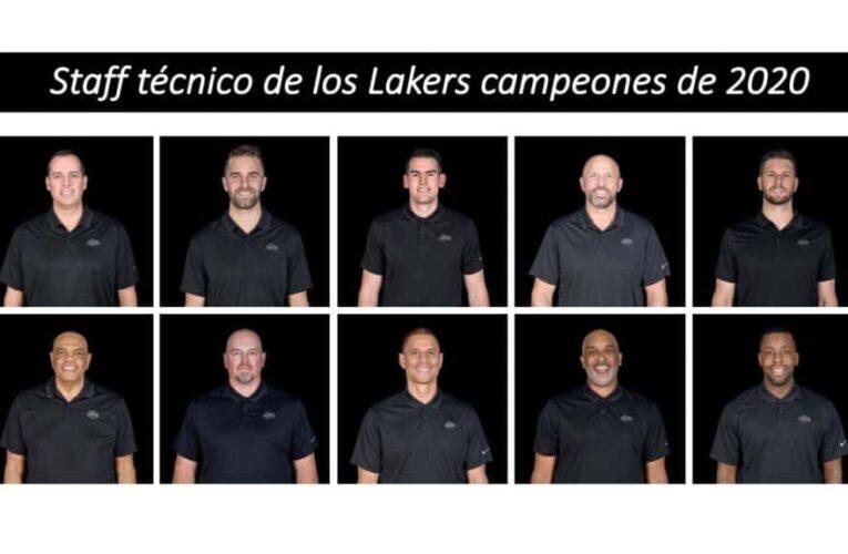 Entrenadores de los Lakers campeones en 2020
